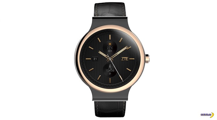 Новые умные часы от ZTE
