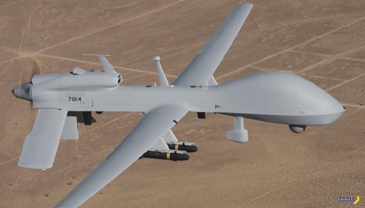 В Ираке разбился американский дрон-беспилотник
