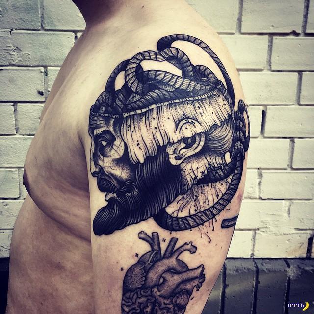 Татуировки на зависть - 43 - Barbe Rousse