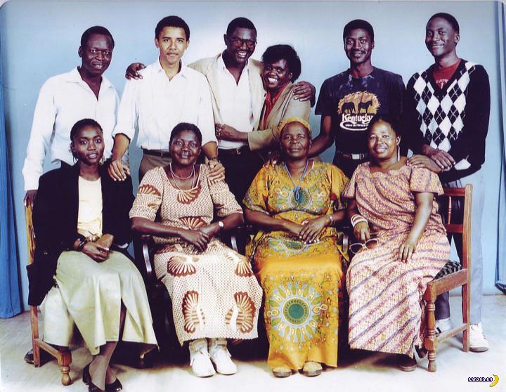 Первое посещение Обамой его исторической родины