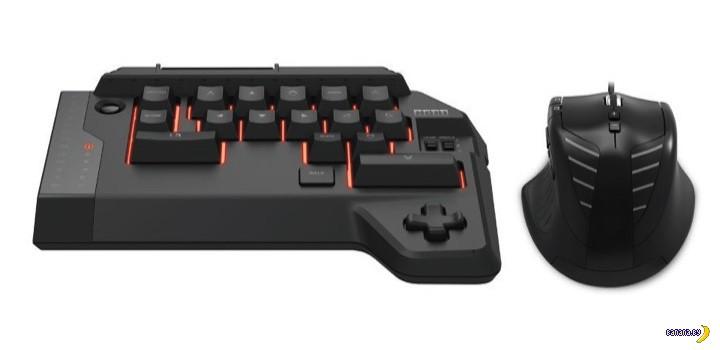Мышь и кусочек клавиатуры для PS4