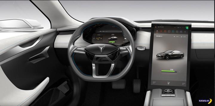 ������� ����������� Tesla Model S