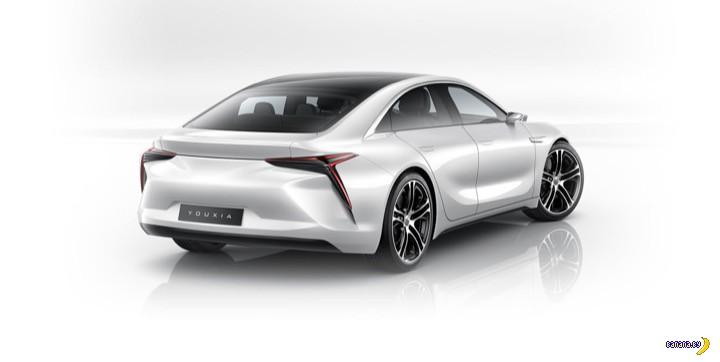 Китайцы скопировали Tesla Model S