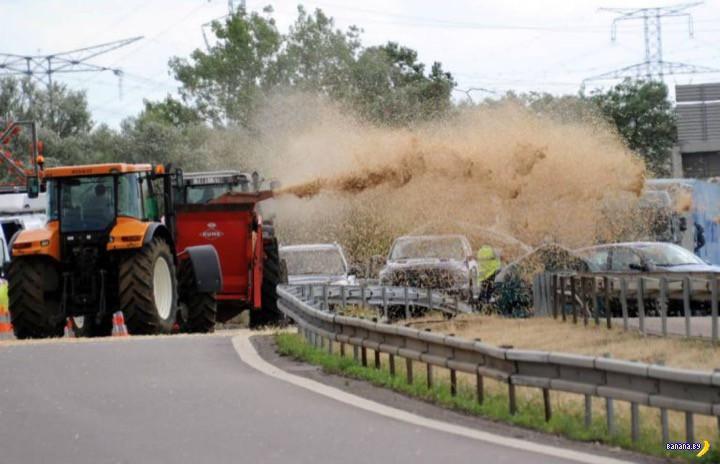 Французские фермеры не сдаются