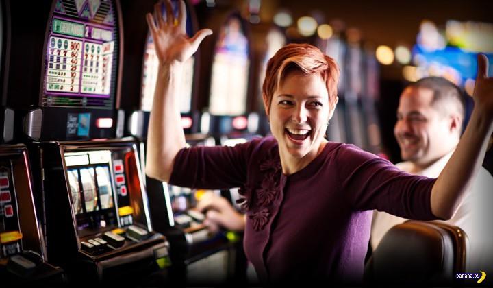 Какие суммы выигрывают люди на игровых автоматах?
