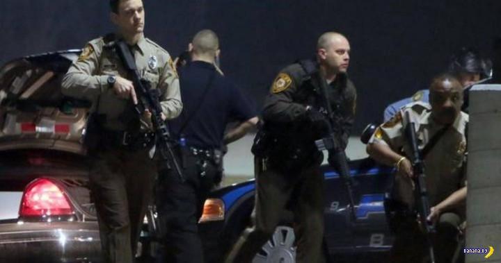 Топ-10 штатов по жертвам полиции - 2015