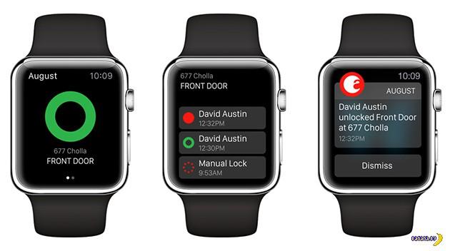 Часы Apple Watch смогут открывать двери