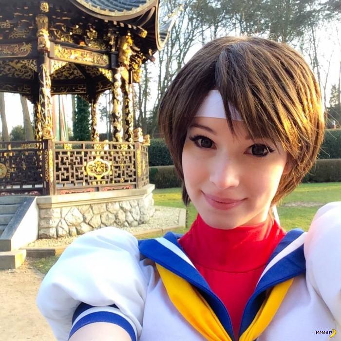 Королева косплея Enji Night - новые фото