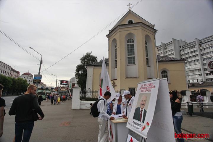 Лукашенко собрал полмиллиона подписей