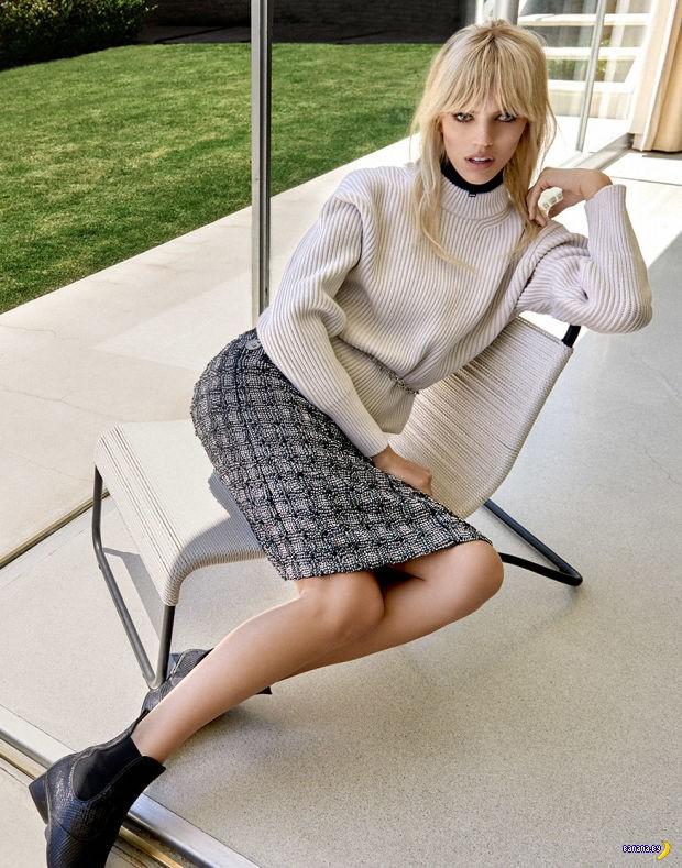 Девон Виндзор для Vogue