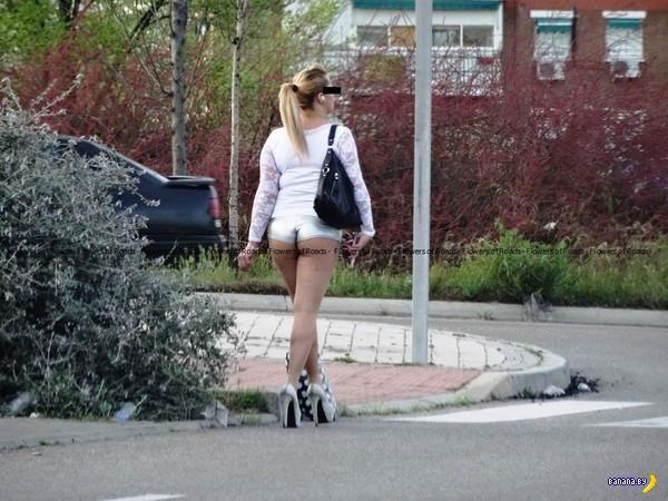 уличные проститутками
