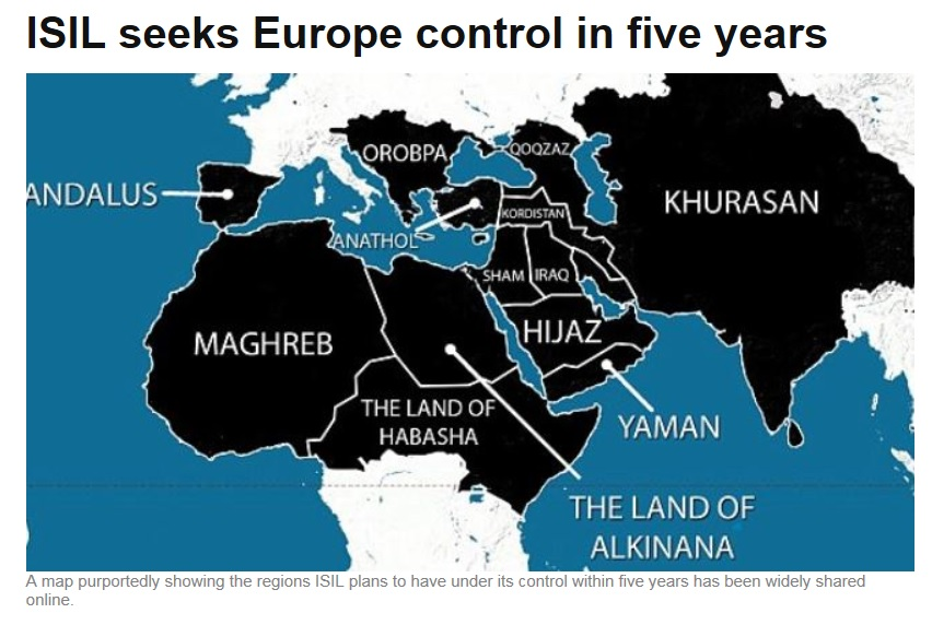 Планы ИГИЛ к 2020 году
