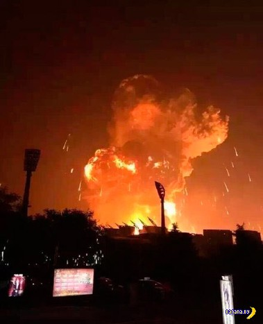 Мощнейший взрыв в китайском порту