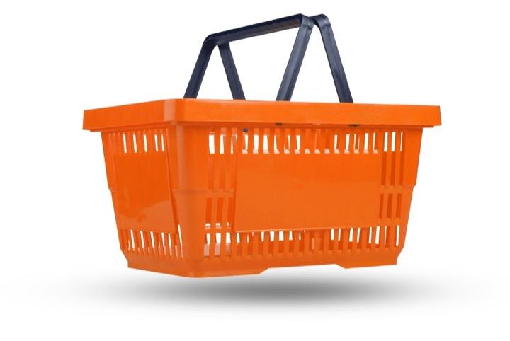 Без корзинки в магазин заходить можно!