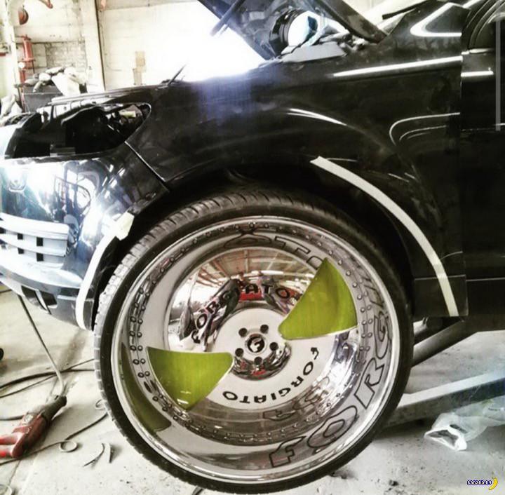 А изуродуйте мне машину!