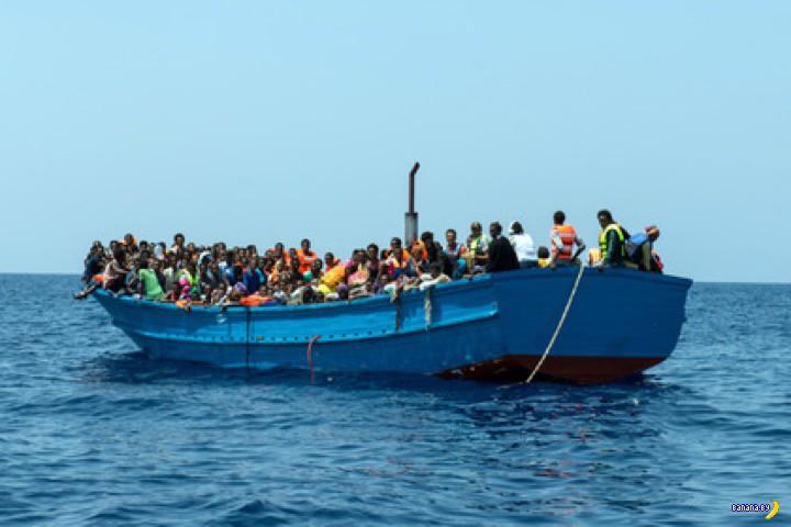 Рейс нелегалов Ливия-Европа –40 трупов