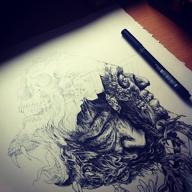 Рисует DZo