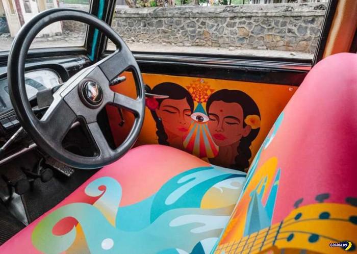 Психоделические мумбайские такси