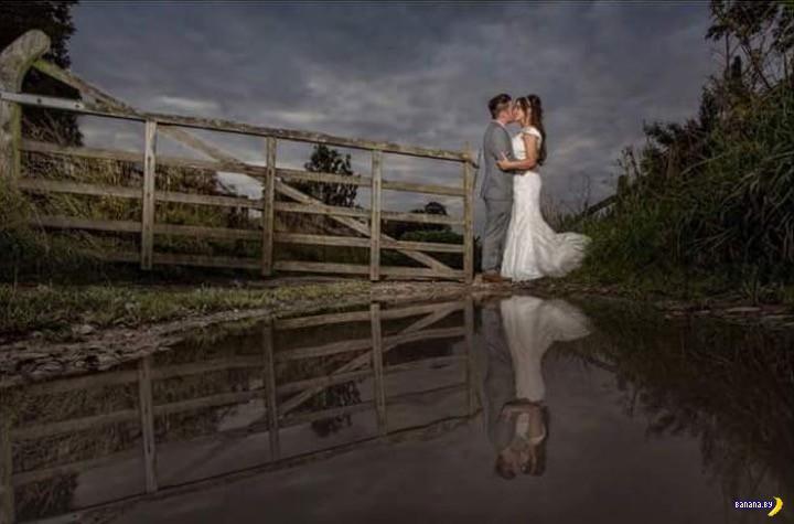 Тяжкий труд свадебных фотографов