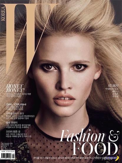 Лара Стоун для W magazine