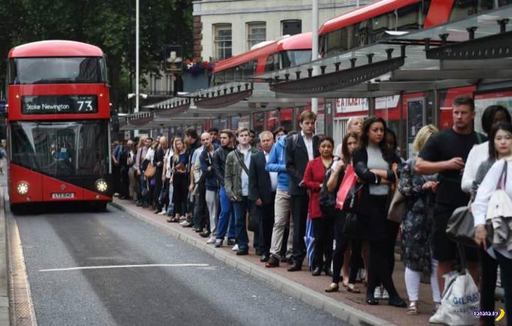 Парализованный Лондон