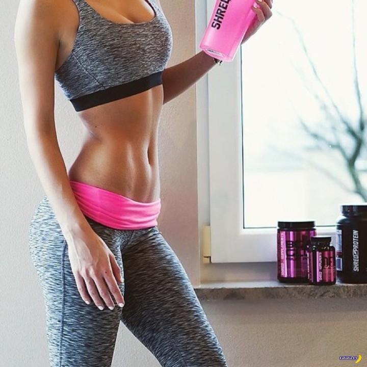диета со спортивным питанием для похудения