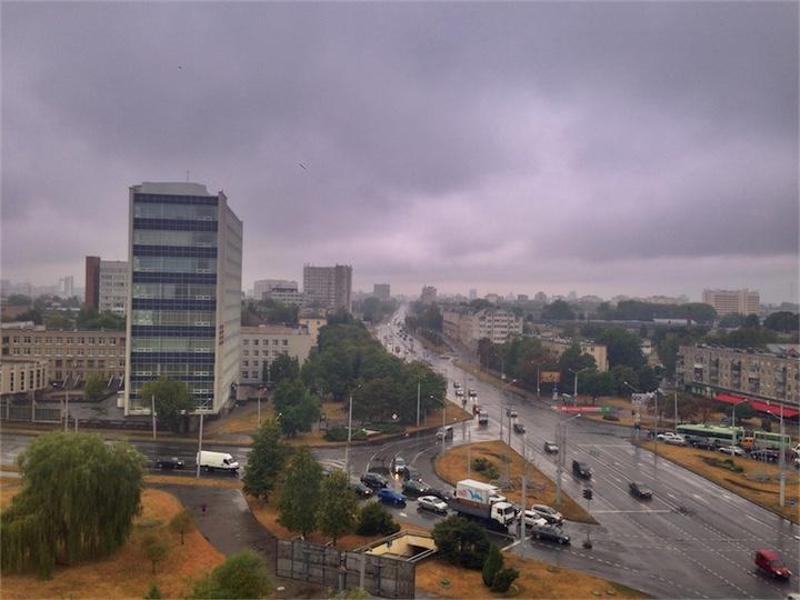 Погода: дожди заглянули в наше пекло