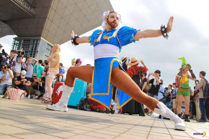 Танцует и поёт Ladybeard!