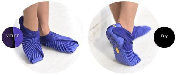 Изобрели кроссовки-портянки