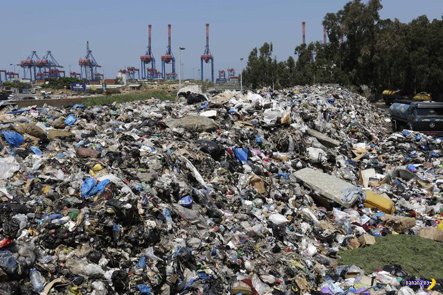 Мусорный кризис в Бейруте