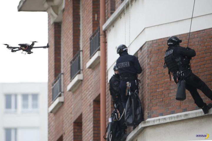 Полицейские дроны теперь смогут убивать?