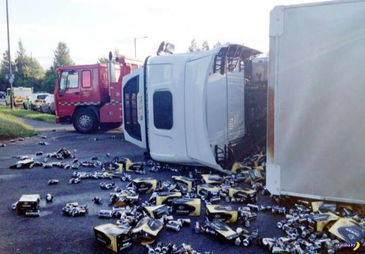 Выпивка на дороге и нулевое мародерство