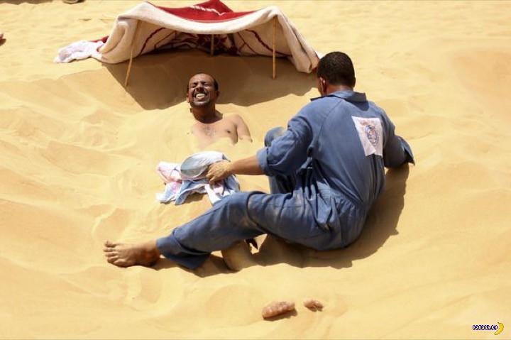 Белое солнце пустыни и SPA