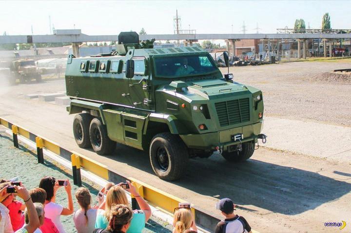Украина вооружается - КрАЗ Feona