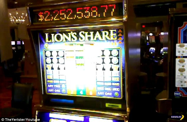Самый жадный игровой автомат в мире