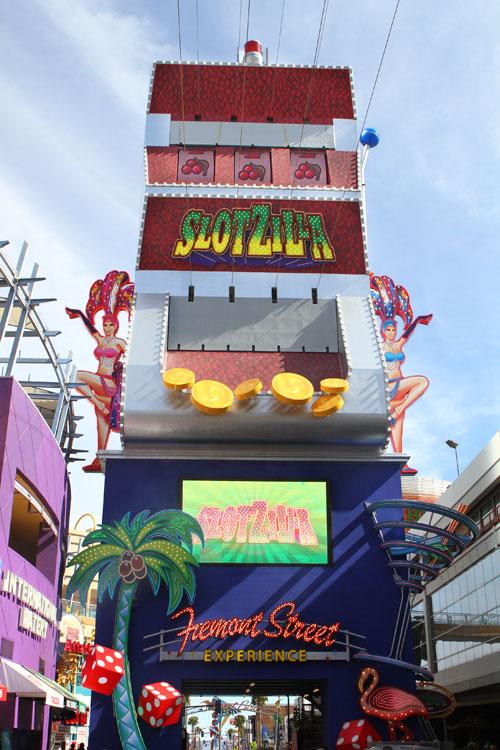 SlotZilla - самый большой игровой автомат в мире