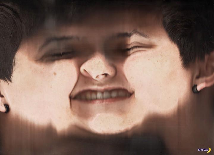 Лица на сканнере
