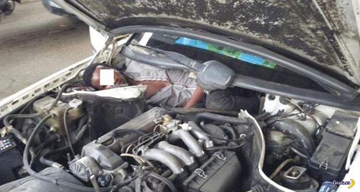 Нычки для нелегалов-сарацинов в авто
