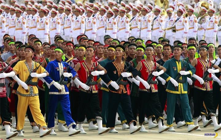 Чудо на вьетнамском параде