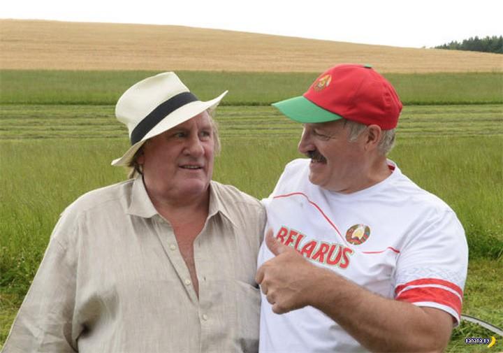 Депардье заявил, что хочет переехать в Беларусь