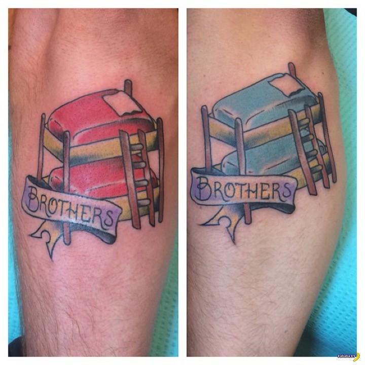 Татуировки на зависть - 48 - Родня