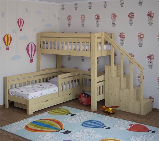 Уникальные кровати для больших семей