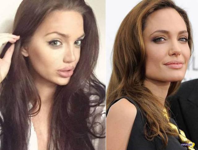 Двойник Анджелины лучше, чем оригинал!