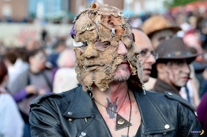 Зомби-парад в Дюссельдорфе