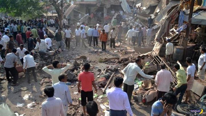Коварные взрывы в индийском ресторане