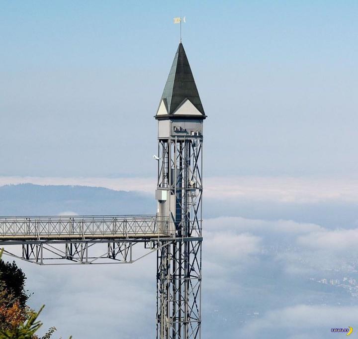 Самый высокий уличный лифт в Европе