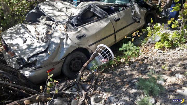 Триллер: в разбитой машине двое суток