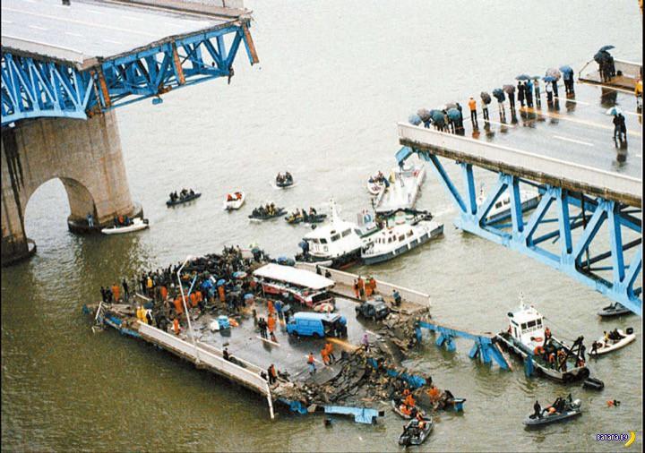 Обрушение моста в Сеуле