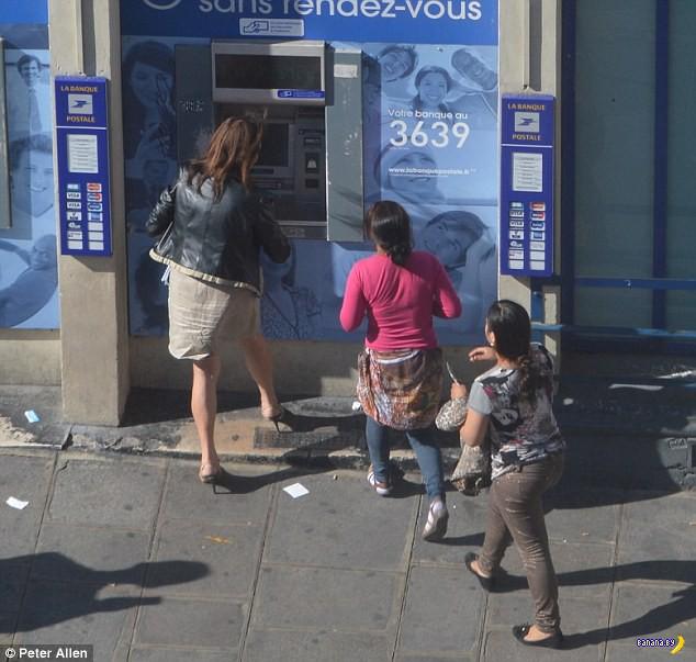 Особенности работы банкоматов во Франции