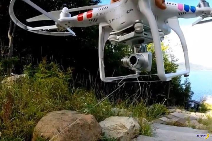 Польза от дрона-квадрокоптера